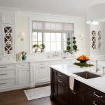 Katonah Hardware for Traditional Kitchen with White Area Rug