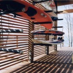 Kayak Shed for Modern Shed with Modern