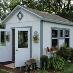 Kayak Shed for Rustic Shed with Garden Path Lighting