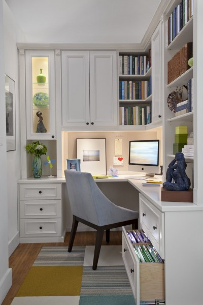 Ken Fulk for Traditional Home Office with Contemporary