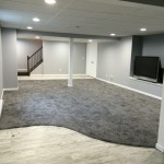 Kenny Carpets for Contemporary Basement with Basement