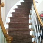 Kenny Carpets for Traditional Staircase with Carpet