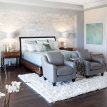 King Ranch Turfgrass for Contemporary Bedroom with Stone Wall