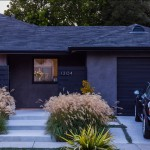 King Ranch Turfgrass for Midcentury Exterior with Picture Window