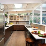 King Ranch Turfgrass for Midcentury Kitchen with Tongue and Groove Ceiling