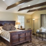 King Ranch Turfgrass for Traditional Bedroom with Vaulted Ceiling