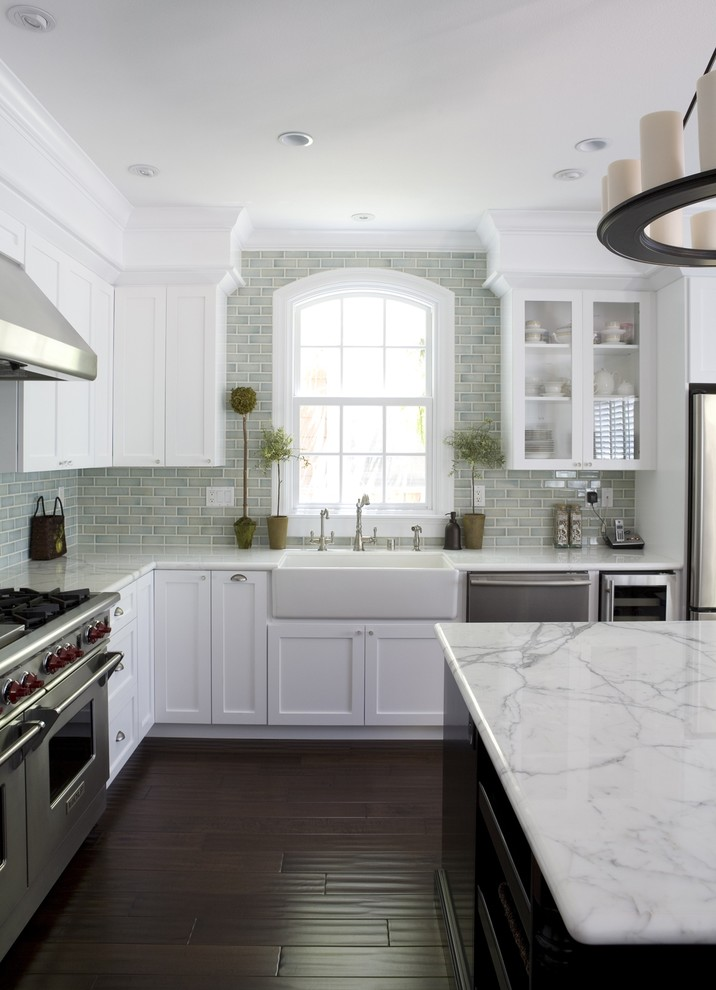 Kitchen Sink Lyrics for Traditional Kitchen with Apron Sink