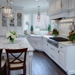Kitchen Sink Lyrics for Traditional Kitchen with Marble Countertop