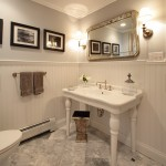 Klaffs Norwalk for Traditional Powder Room with Turned Wood