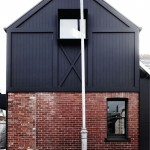 Klinker Brick for Contemporary Exterior with Updated Industrial