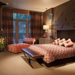 Kneedler Fauchere for Modern Bedroom with Floor to Ceiling Windows