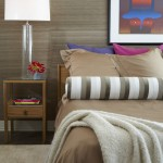 Kneedler Fauchere for Modern Bedroom with Wall Decor