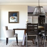 Kneedler Fauchere for Traditional Dining Room with Upholstered Dining Chair