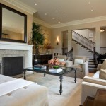 Kneedler Fauchere for Traditional Family Room with Crown Molding