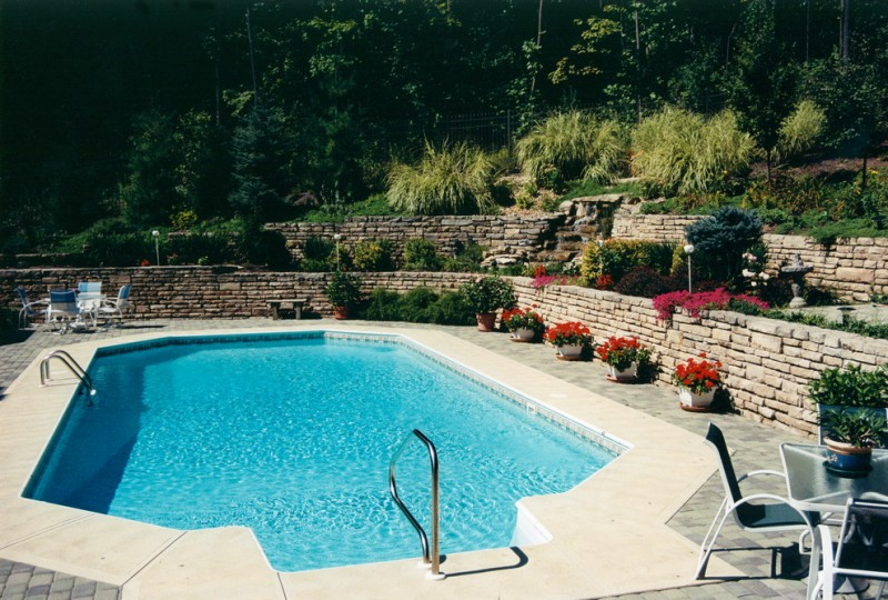 Knickerbocker Pools for Mediterranean Pool with Mediterranean