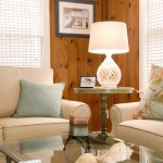 Knotty Pine for Traditional Living Room with Painted Fireplace