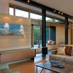 Kodiak Steel Homes for Modern Living Room with Mountain Contemporary