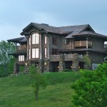 Kodiak Steel Homes for Rustic Exterior with Stacked Stone Exterior