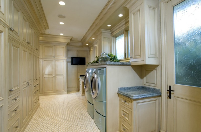 Kolb Electric for Traditional Laundry Room with Recessed Lights