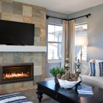 Kozy Heat for Modern Living Room with Fireplace