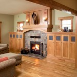 Kozy Heat for Traditional Living Room with Stone