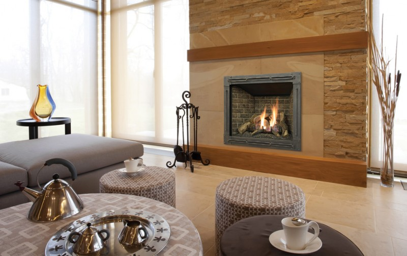 Kozy Heat for Transitional Living Room with Coffee