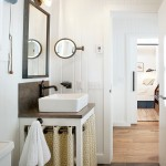Kraus Flooring for Contemporary Bathroom with Cabin