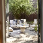 Kraus Flooring for Contemporary Patio with Patio Furniture