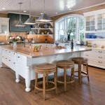 Kraus Flooring for Traditional Kitchen with Barn Wood Flooring