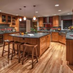 Kraus Flooring for Traditional Kitchen with Wood Floor