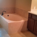 Kurk Homes for Traditional Bathroom with Garden Tub
