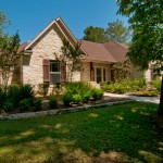 Kurk Homes for Traditional Exterior with Custom Texas Ranch Style Home Stone With