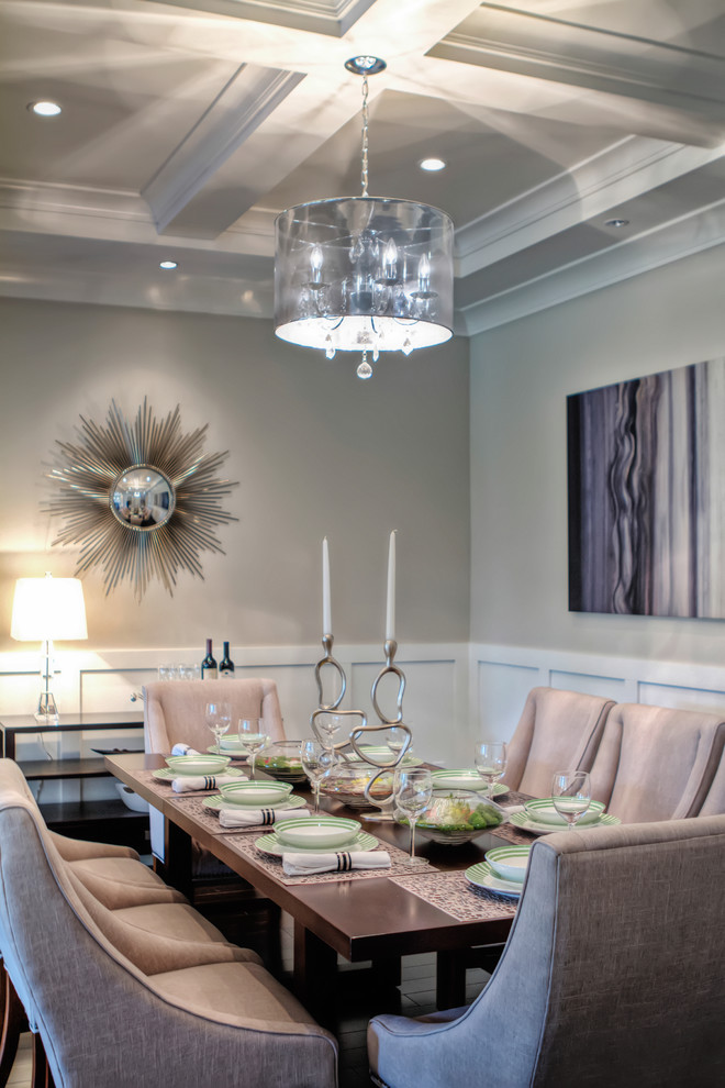 Kuzco for Contemporary Dining Room with Candlestick Holders
