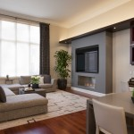 La Cantina Chicago for Contemporary Family Room with Drapes