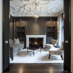 La Cantina Chicago for Traditional Living Room with Marble Fireplace