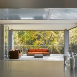 La Cantina Doors for Contemporary Deck with Floor to Ceiling Windows