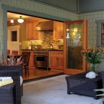 La Cantina Doors for Contemporary Porch with French Doors