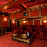 La Habra Theater for Traditional Home Theater with Home Cinema