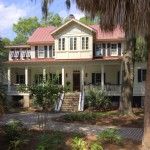 Lancasters for Beach Style Exterior with Porch