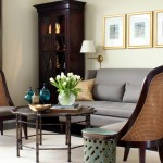 Lancasters for Traditional Living Room with Neutral Colors