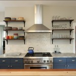 Lancasters for Transitional Kitchen with Blue Kitchen Cabinets