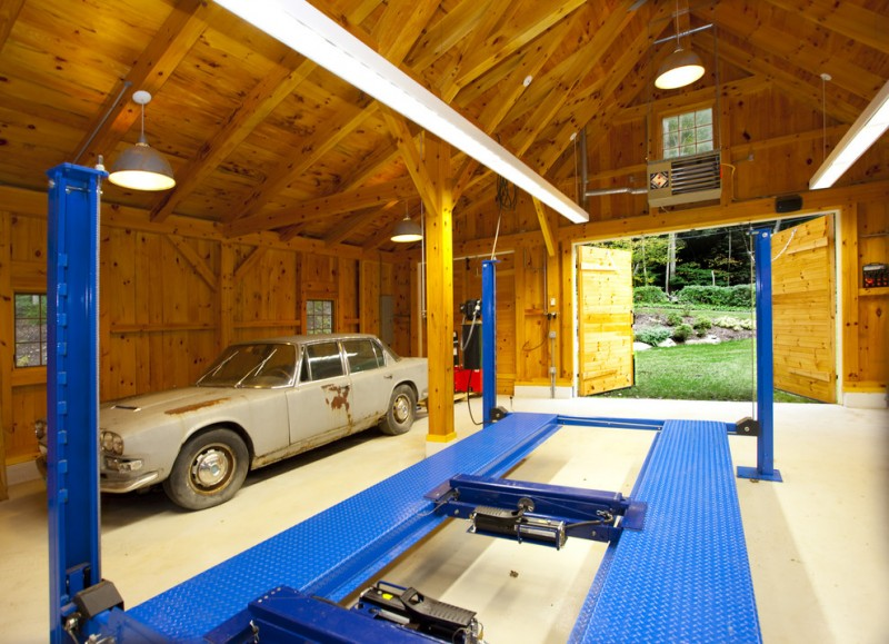 Lancia Homes for Contemporary Shed with Detached Garage