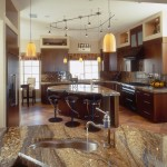 Lapidus Granite for Transitional Kitchen with Eat in Kitchen