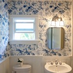 Larchmont Bungalow for Traditional Bathroom with Floral