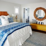 Latitudes Apartments for Beach Style Bedroom with Yellow Ottoman