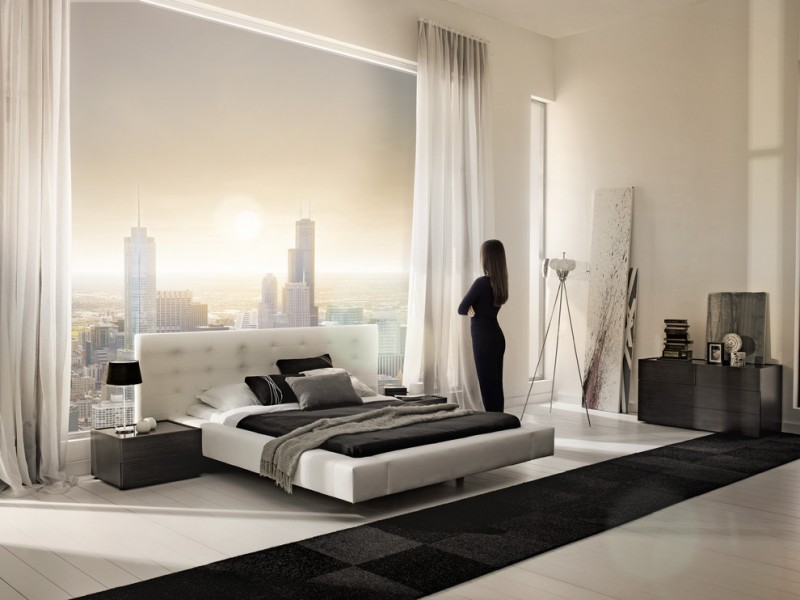 Lazzoni Furniture for Modern Bedroom with Modern Bed