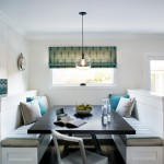 Lee Jofa for Contemporary Kitchen with Built in Banquette
