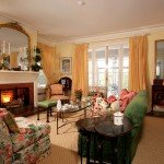 Lee Jofa for Traditional Living Room with Antiques