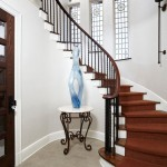 Lees Summit Honda for Traditional Staircase with Round Hall Table