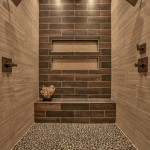 Legacy Homes Omaha for Transitional Bathroom with Brown Tile